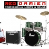 product - Red Damien Band Equipment for Rent