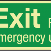 product - Glow in the Dark Sticker for Emergency Exit Signs