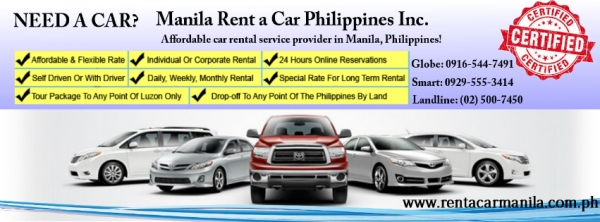 Rental Car Philippines >> Manila Rent A Car Philippines Inc Philippines Phone Address