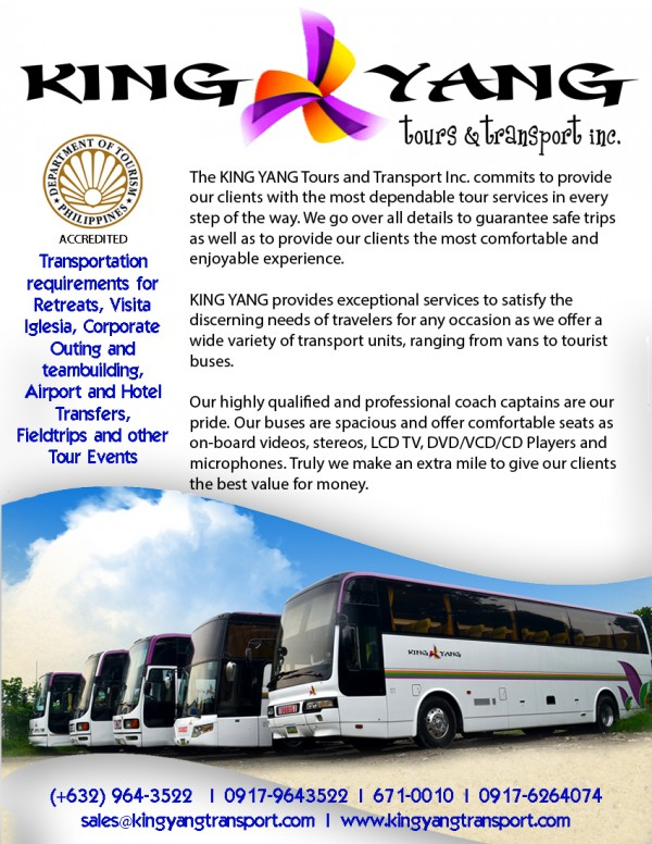 KingYang Tours and Transport Inc  (Taguig City, Philippines