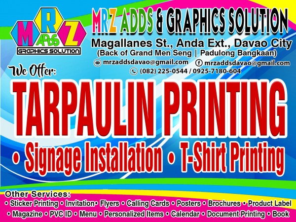 Mrz adds and graphics solutions davao city philippines add a photo stopboris Images