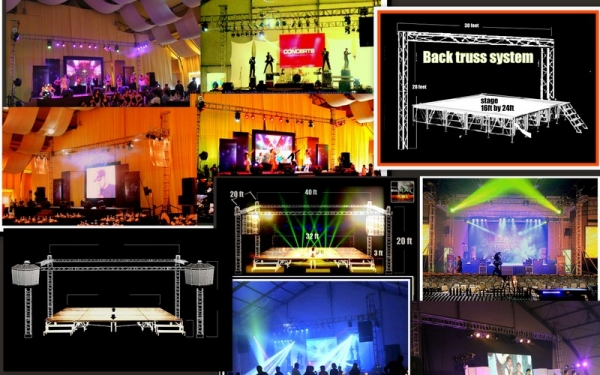 Image result for sound system and lights